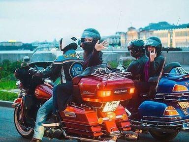 "Экскурсия ""Мотопрогулка по центруПетербурга!"": фото"