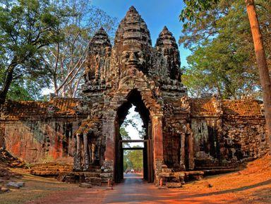 Онлайн-прогулка постолице кхмеров вКамбодже