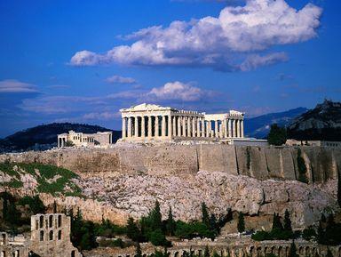 Акрополь и Малые Афины. Золотая формула Гармонии, открытая грека