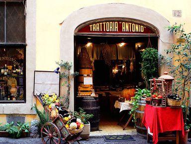 Рестораны Рима: несколько интересных мест, которые стоит посетить