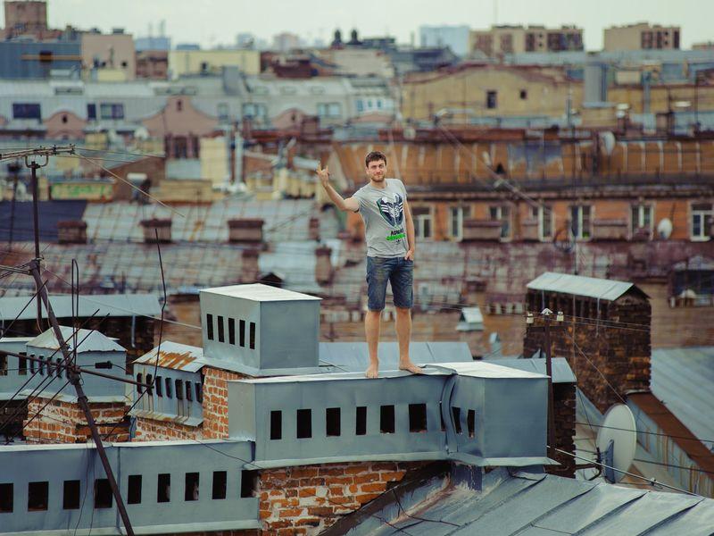 Летние крыши Петербурга
