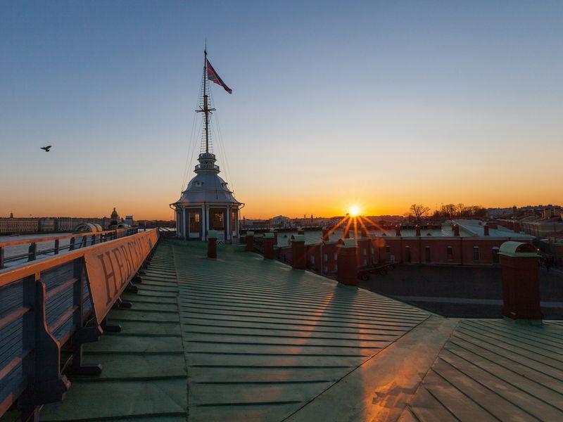 Экскурсия Петропавловская крепость— оттоннелей докрыши