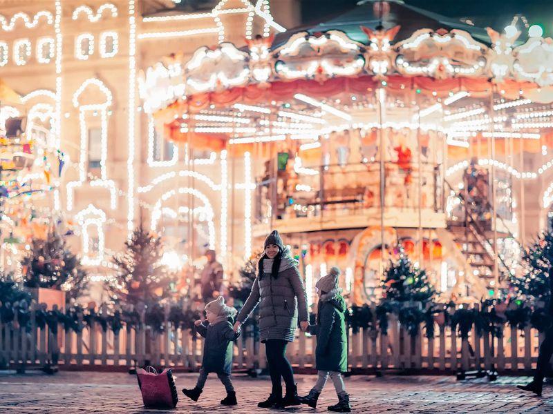Экскурсия По новогодней Москве с детьми: экскурсия-квест!