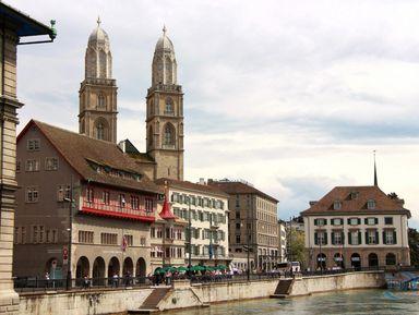 Экскурсия в Цюрихе: «Лицо» илегенды Цюриха