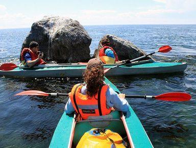 Экскурсия в Иркутске: На байдарке по Ангаре и Иркутскому водохранилищу