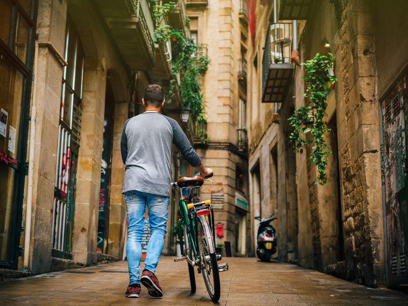 Экскурсия Готическая Барселона на велосипедах