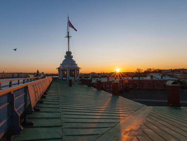 """Экскурсия """"Петропавловская крепость— оттоннелей докрыши"""": фото"""