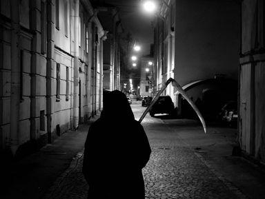 """Экскурсия """"Прогулка со Смертью по центру Петербурга"""": фото"""