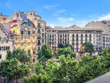Барселона римская, средневековая, модернистская