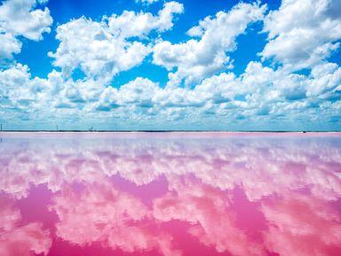Вальядолид и розовые озёра