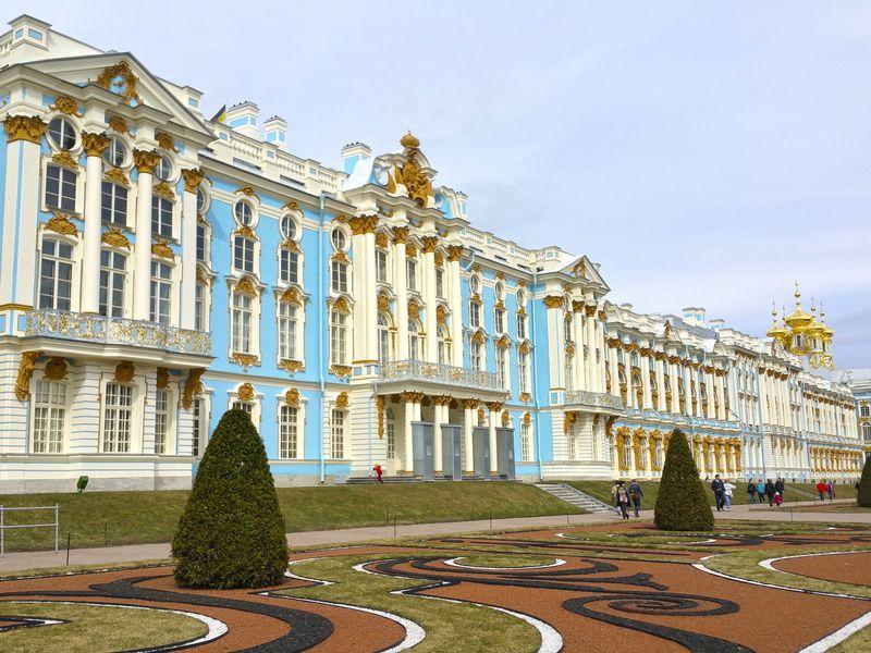 Экскурсия Блестящий Екатерининский дворец