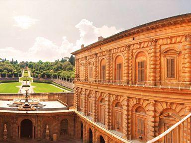 Палаццо Питти— лучший дворец Флоренции