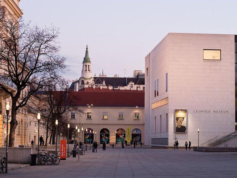 Музей Леопольда: Климт, Шиле и Венский сецессион