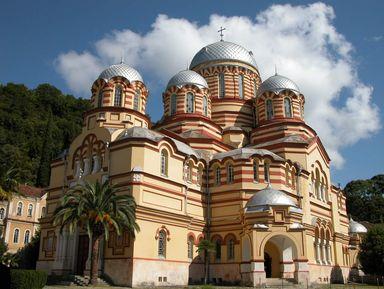 Новый Афон. Истоки христианства на Кавказе