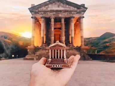 Символы Армении: Гарни, Гегард итрадиционный лаваш