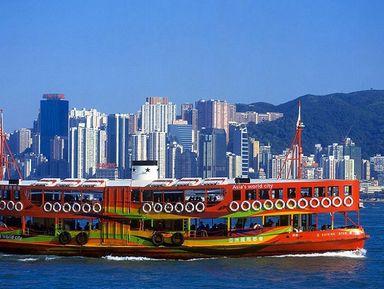 По Гонконгу на пароме, трамвае и автобусе!