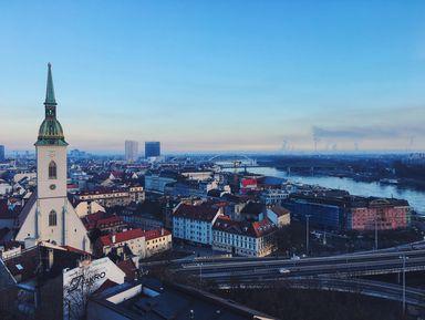 Экскурсия в Братиславе: Братислава — история и современность