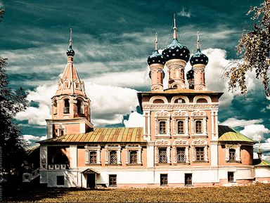 Обзорные и тематические экскурсии в городе Углич