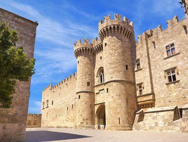 Город Родос — обитель рыцарей