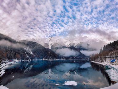 Зимние сказки Абхазии