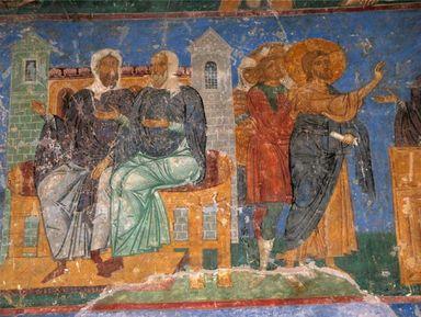 Фресковая живопись Древней Руси. Традиции и современность