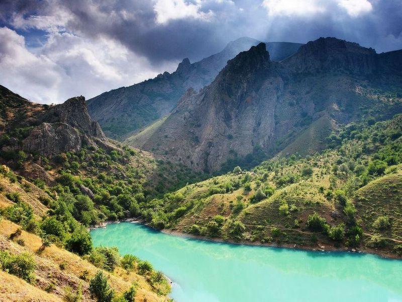Другой Крым: Зеленое озеро и Арпатские водопады width=