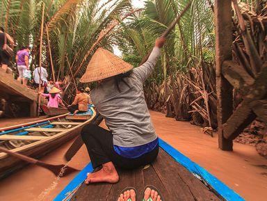 Меконг и плавучие рынки