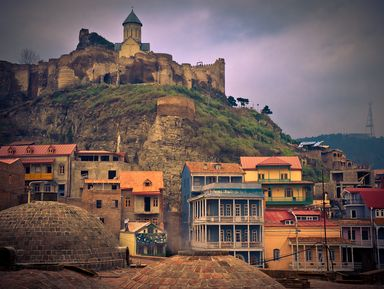 Тбилиси – город, где живет Муза