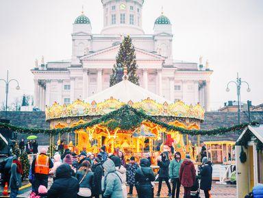 Экскурсия в Хельсинки: Рождественские декорации Хельсинки