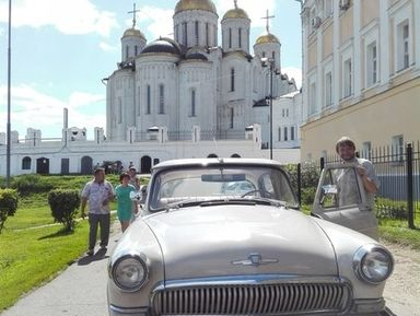 Владимир и Боголюбово: шедевры русского зодчества
