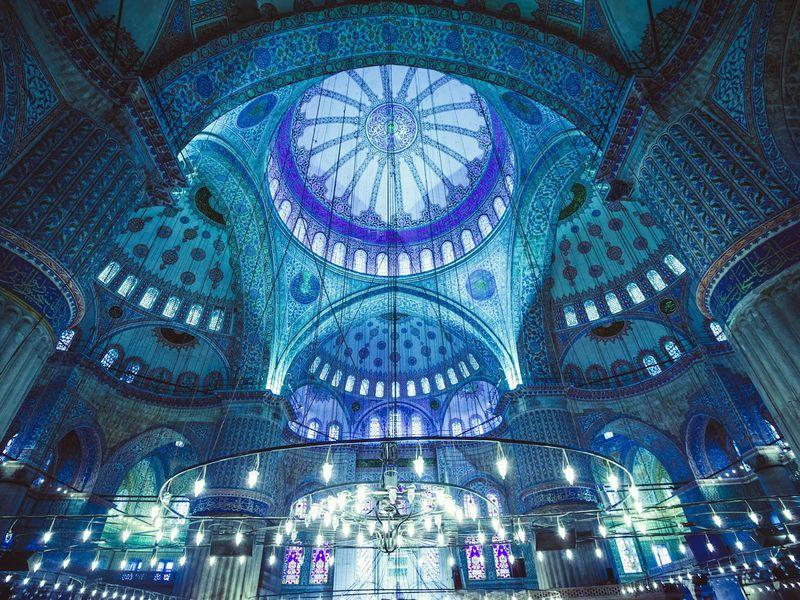 Айя-София, Голубая мечеть и Ипподром