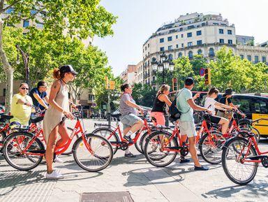 Вело-пешеходный тур: живая Барселона за4часа