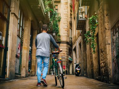 Готическая Барселона на велосипедах