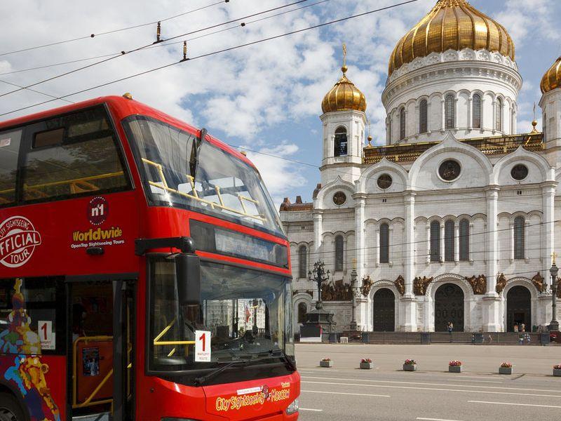 Экскурсия Билеты на автобус Hop-on Hop-off в Москве