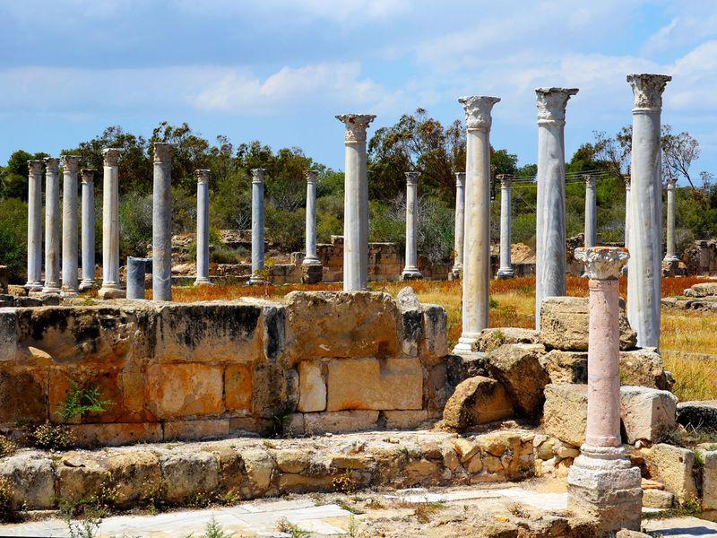 Экскурсия Саламин — Фамагуста. Античный, средневековый и современный Кипр