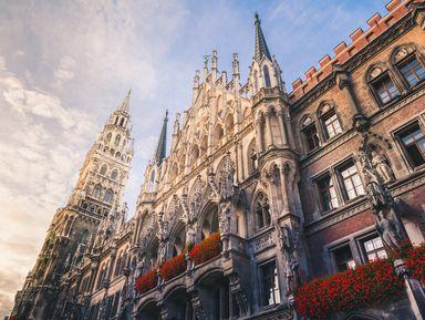 Путешествие во времени — авто-пешеходная экскурсия по Мюнхену