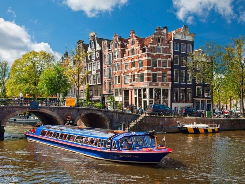 Первый день в Амстердаме!