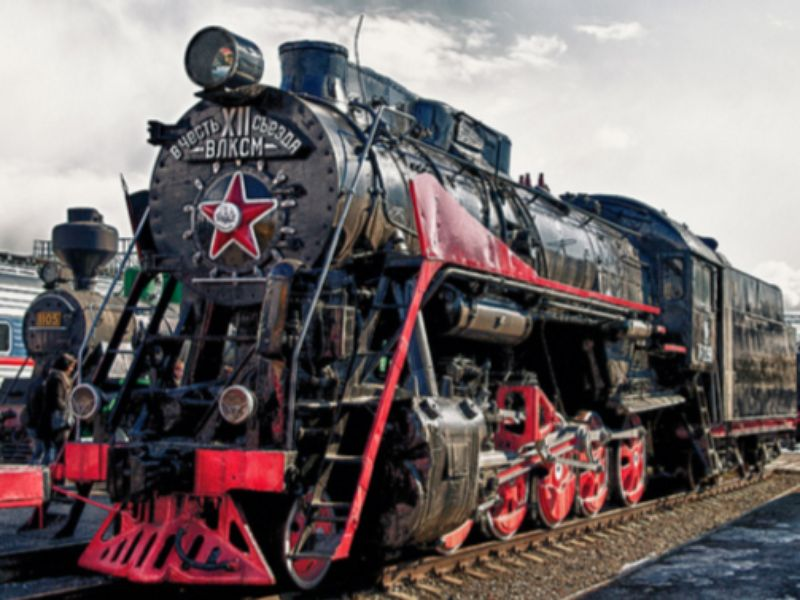 Экскурсия Старые паровозы и вагоны рассказывают…