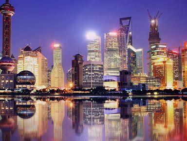 Экскурсия в Шанхае: Вечерний Шанхай
