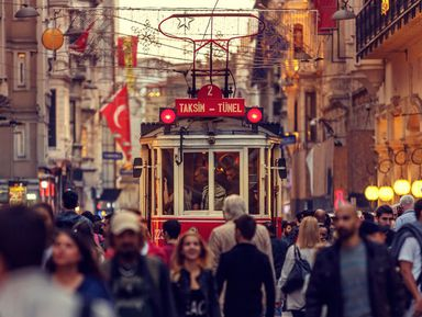 Живой повседневный Стамбул