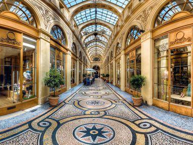 Авторская экскурсия погалереям ипассажам Парижа