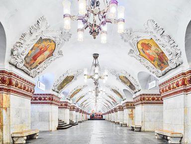 Онлайн-экскурсия «Московское метро— подземный храм СССР»