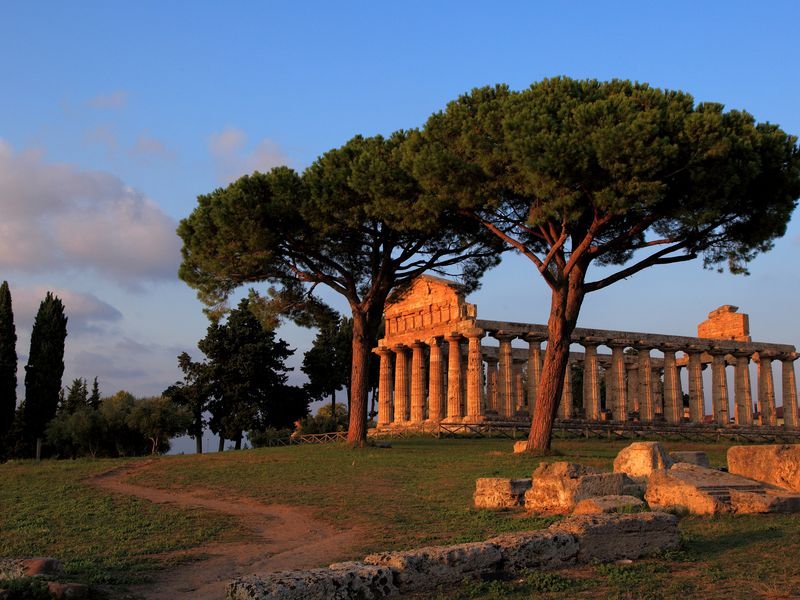 Древний город Посейдония