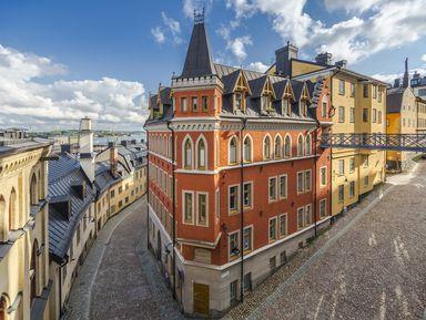 Онлайн-прогулка по творческим кварталам Стокгольма
