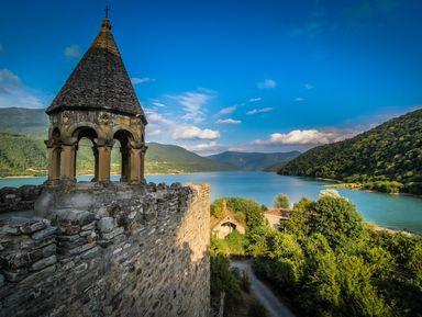 Казбеги: природные богатства Грузии