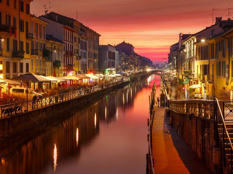 Экскурсия Вдоль каналов вечернего Милана