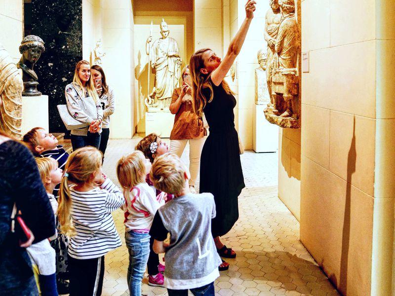 Экскурсия Квест для детей вПушкинском музее: мифы Древней Греции