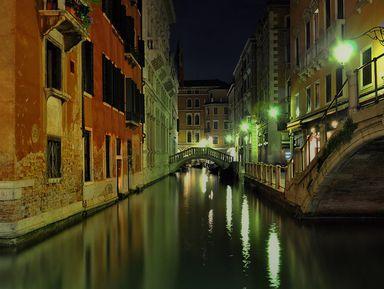 Истории и легенды вечерней Венеции