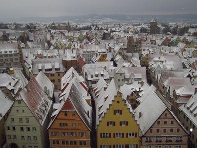 Ротенбург-на-Таубере, или добро пожаловать всказку!