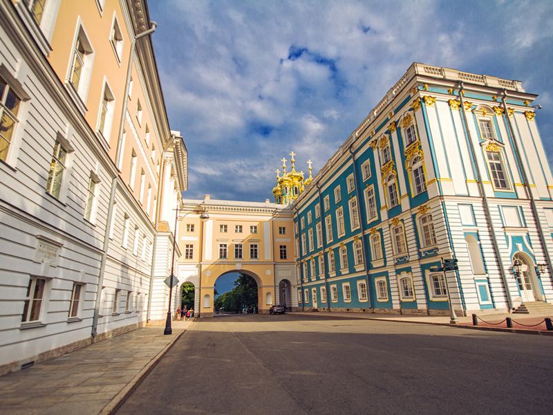 Экскурсия Царскосельский Лицей и Екатерининский дворец
